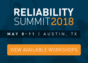 Reliability Summit View Available Workshops
